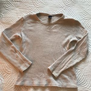 vintage ribbed gap shirt